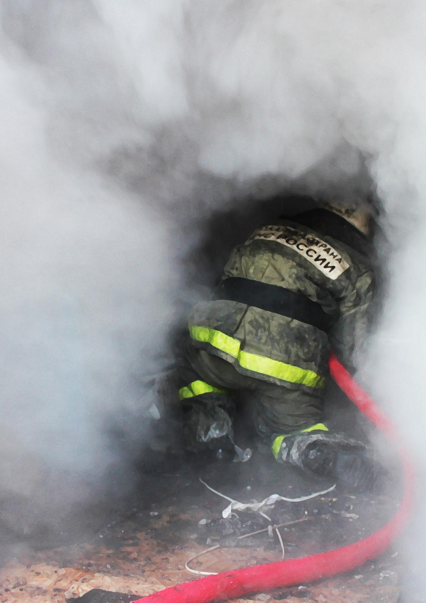 Пожарные спасли жилье забайкальцев в селе Кути Приаргунского района