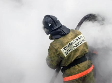 Сотрудники МЧС спасли от пожара квартиру в Шилке