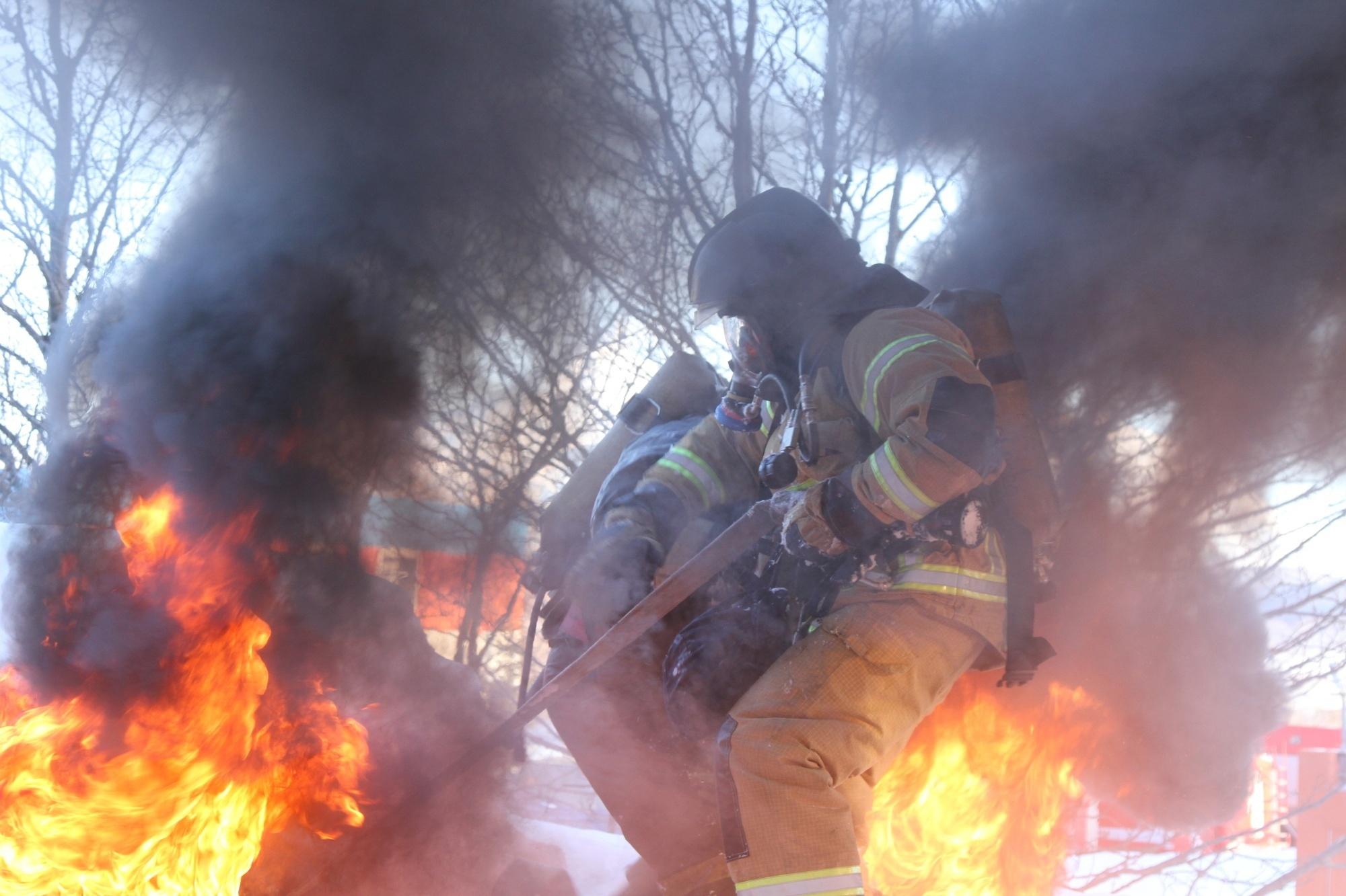 В Чите сгорел гараж — МЧС России по Забайкальскому краю
